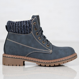 Goodin Trappers With Sheepskin blue 4