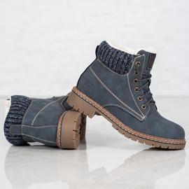 Goodin Trappers With Sheepskin blue 5