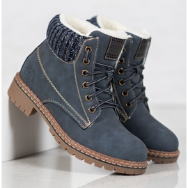 Goodin Trappers With Sheepskin blue 7
