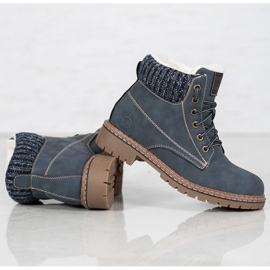 Goodin Trappers With Sheepskin blue 1