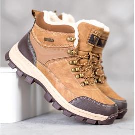 Arrigo Bello Lace-up winter boots brown 1