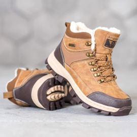 Arrigo Bello Lace-up winter boots brown 2