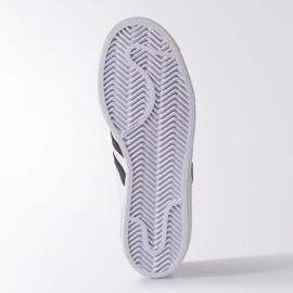 Adidas Originals Superstar Fundation Jr C77154 shoes white 1