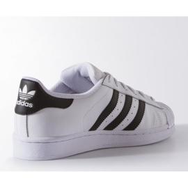 Adidas Originals Superstar Fundation Jr C77154 shoes white 3
