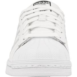Adidas Originals Superstar Jr AQ6278 shoes white 2