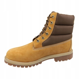 Timberland 6 In Quilit Boot Jr C1790R winter boots brown 1
