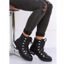 Black boots for women Y8182 Black 3