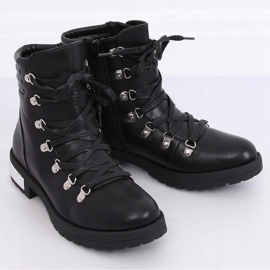 Black boots for women Y8182 Black 2