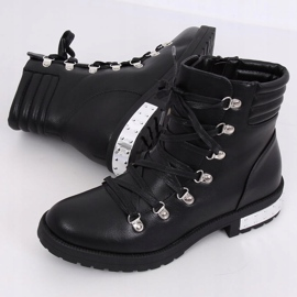 Black boots for women Y8182 Black 4