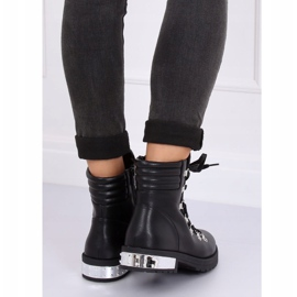 Black boots for women Y8182 Black 6