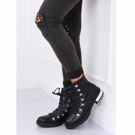 Black boots for women Y8182 Black 7