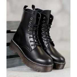 Kylie Boots On The Platform black 3