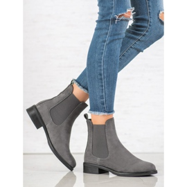 SDS Suede Chelsea boots grey 4