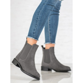 SDS Suede Chelsea boots grey 5