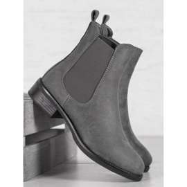 SDS Suede Chelsea boots grey 3