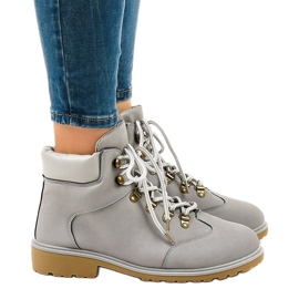 Gray hiking boots without insulation XDS1702 grey 2