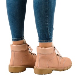 Pink insulated boots DS1702 2