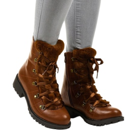 Camel K90 insulated boots brown 1