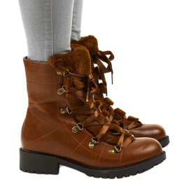 Camel K90 insulated boots brown 2
