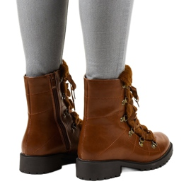 Camel K90 insulated boots brown 3