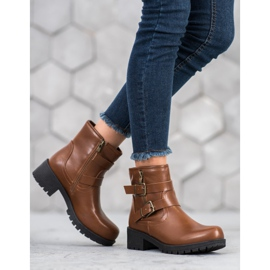 SHELOVET Classic Workers brown 3