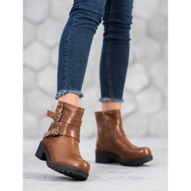 SHELOVET Classic Workers brown 4