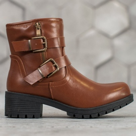 SHELOVET Classic Workers brown 5