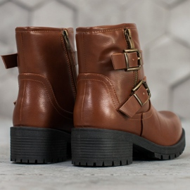 SHELOVET Classic Workers brown 6