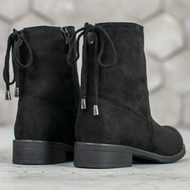 SDS Suede Booties black 3
