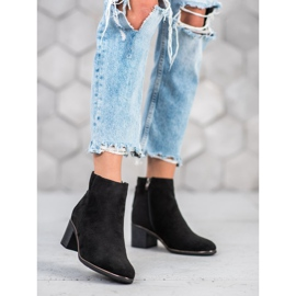 Goodin Black suede boots 2