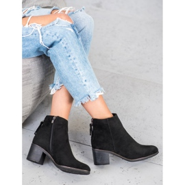 Goodin Black suede boots 3