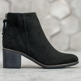 Goodin Black suede boots 4