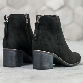 Goodin Black suede boots 5
