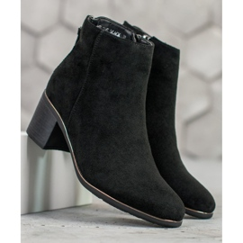 Goodin Black suede boots 6