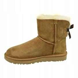Ugg Mini Bailey Bow Ii W 1016501-CHE Shoes brown 1