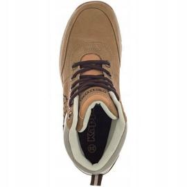 Kappa Bright Mid Jr 260239T 4141 shoes brown 1