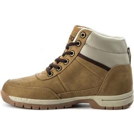 Kappa Bright Mid Jr 260239T 4141 shoes brown 2