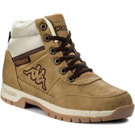 Kappa Bright Mid Jr 260239T 4141 shoes brown 3