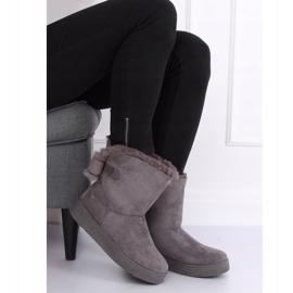 Snow boots emusy gray LV70P Gray grey 4
