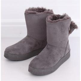 Snow boots emusy gray LV70P Gray grey 2