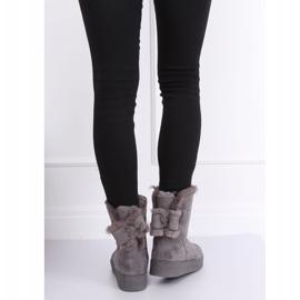 Snow boots emusy gray LV70P Gray grey 3