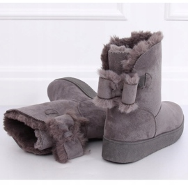 Snow boots emusy gray LV70P Gray grey 1