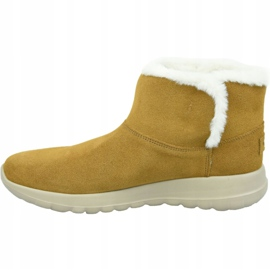 Skechers On The Go Joy Bundle Up W 15501-CSNT Shoes brown 1