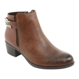 Jodhpur boots with a buckle Daszyński 1919 bronze brown 1
