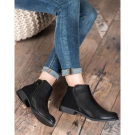 J. Star Flat Heel Boots black 3