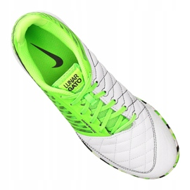 Nike LunarGato Ii Ic M 580456-137 indoor shoes green 4