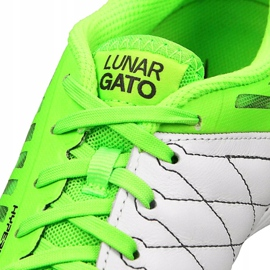 Nike LunarGato Ii Ic M 580456-137 indoor shoes green 5