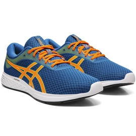 Asics Patriot 11 M 1011A568 401 running shoes blue 3