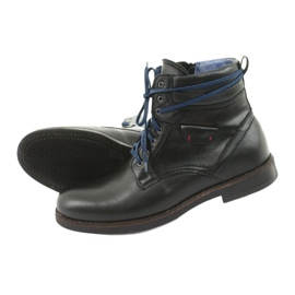 Nikopol 700 zipper black boots 5