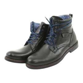 Nikopol 700 zipper black boots 3